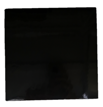 Square (Black) Cake Board [Please Choose The Size]