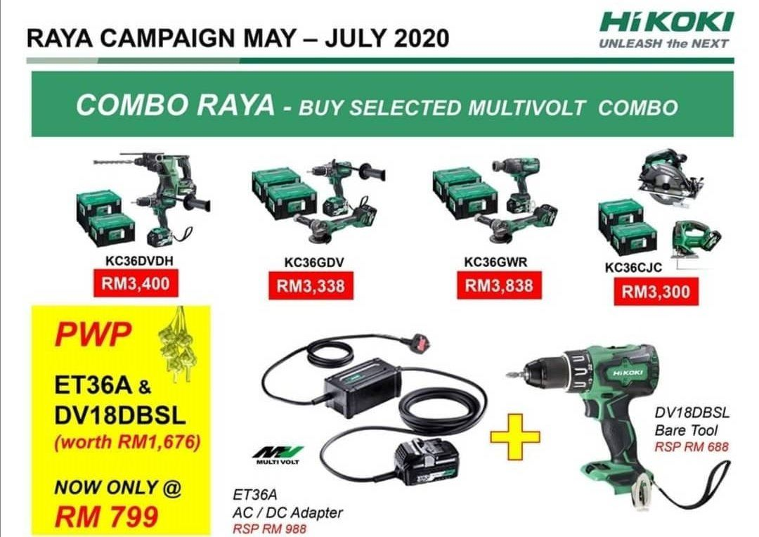 HIKOKI RAYRA CAMPAIGN MAY-JULY 2020
