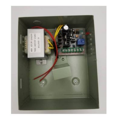 Door Access Control Accessories, Power Supply 3A 12V Rechargeable Battery Feature (inside)