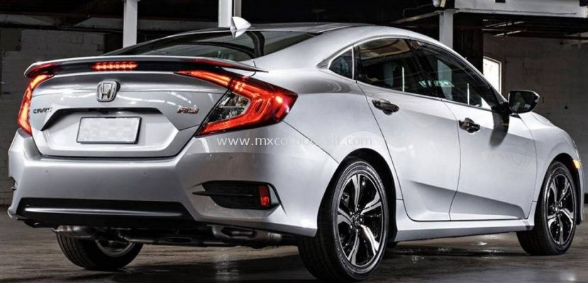 HONDA CIVIC FC 2016 - 2020 THAI RS SPOILER WITH LED