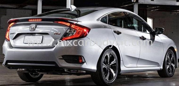 HONDA CIVIC FC 2016 - 2020 THAI RS SPOILER WITH LED CIVIC FC 2016 HONDA