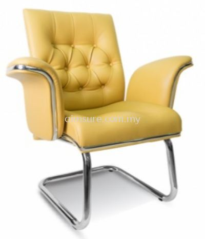 Grand Director visitor chair AIM1088SY(Chrome) Side view