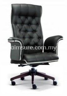 Grand highback chair AIM2181H(Wood colour)