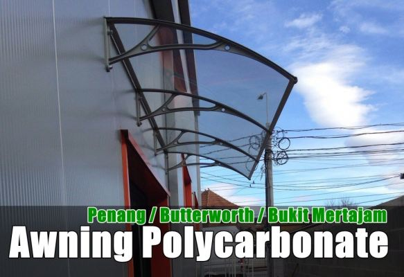 Polycarbonate Awning Penang, Butterworth