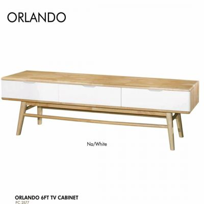 Orlando Full Solid Quality TV Cabinet 6 feet