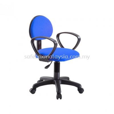 TYPIST CHAIR/VISITOR CHAIR/ OFFICE CHAIR WITH ARM AND PUMP
