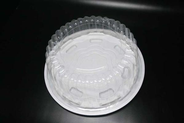 BENXON BAKERY CLEAR CONTAINER (BX-140) (LIDS&BASE) (LIDS 227X80) (BASE 240X10)