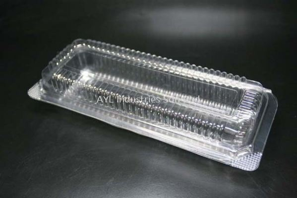 BENXON BAKERY CLEAR CONTAINER (BX-141) (235X185X40)