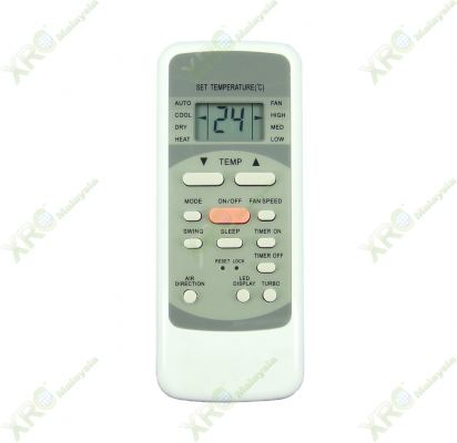 R51ME BEKO AIR CONDITIONING REMOTE CONTROL