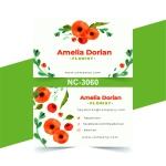 Flora Name Card - NC3060