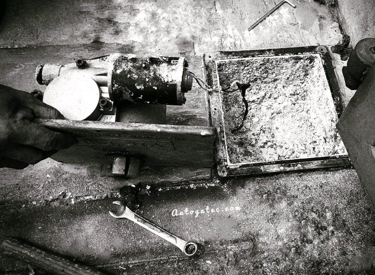 Underground Motor Repair