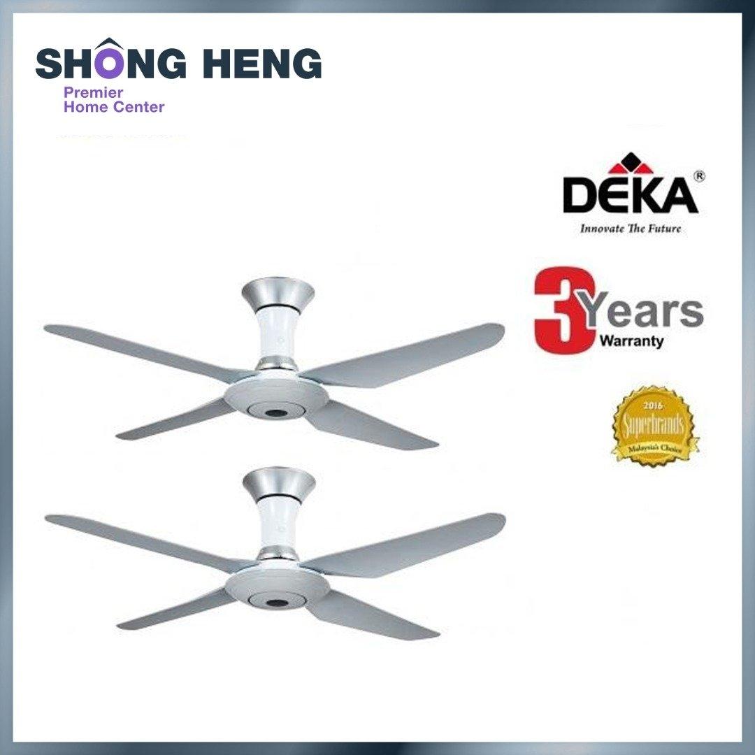 DEKA DK80 Ceiling Fan 4 blades 56 ( White color) TWIN PACK