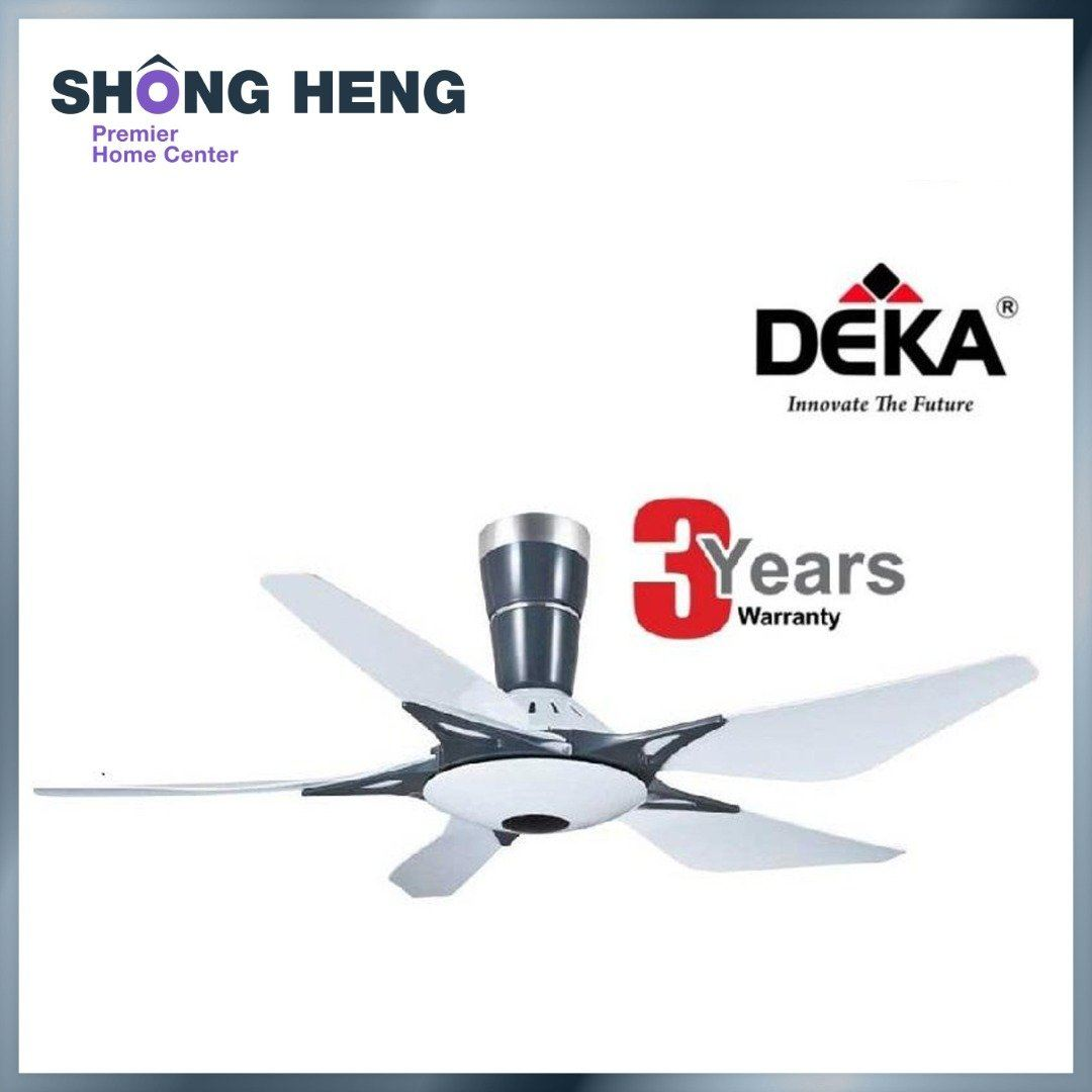 DEKA DK118 Decorative Ceiling Fan 56 (White color)