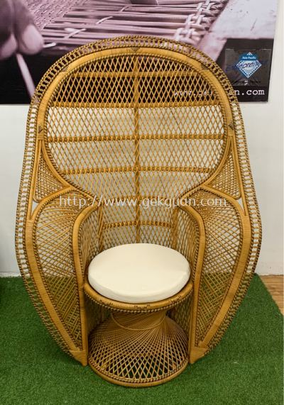 RPC 019 - RATTAN PEACOCK CHAIR