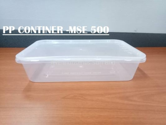 MSE PP RECTANGULAR CONTAINER (MSE 500)