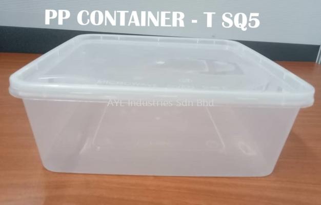 PP RECTANGULAR CONTAINER (T-SQ5)