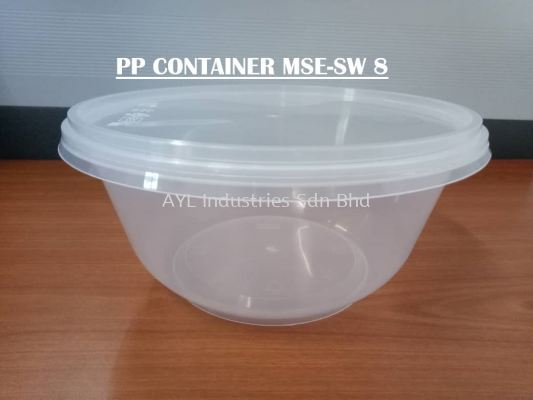 MSE PP CONTAINER ROUND (MSE SW 8)