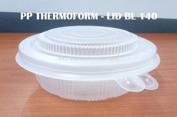 PP CONTAINER WITH HINGED (LID BL 140)