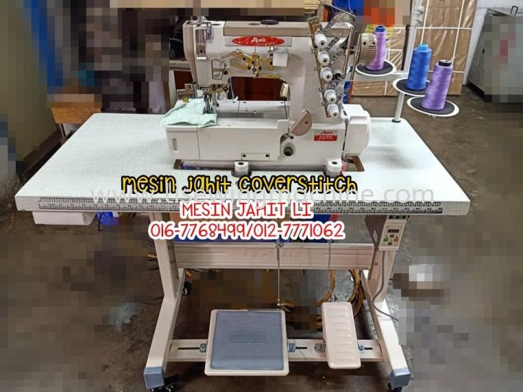 Mesin Jahit thsirt / interlock sewing machine