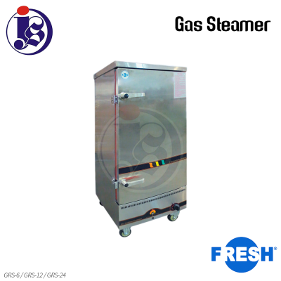 FRESH Gas Steamer GRS-6 / GRS-12 / GRS-24