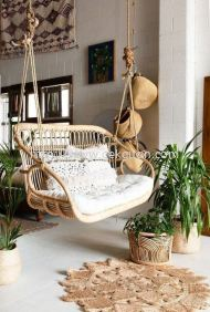 HC 022 - RATTAN HANGING CHAIR