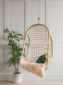 HC 024 - RATTAN HANGING CHAIR