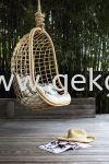 HC 026 - RATTAN HANGING CHAIR Hanging Swing Chair Furniture Series