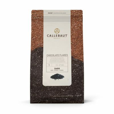 Callebaut Chocolate Flakes Dark [Please pick you size]