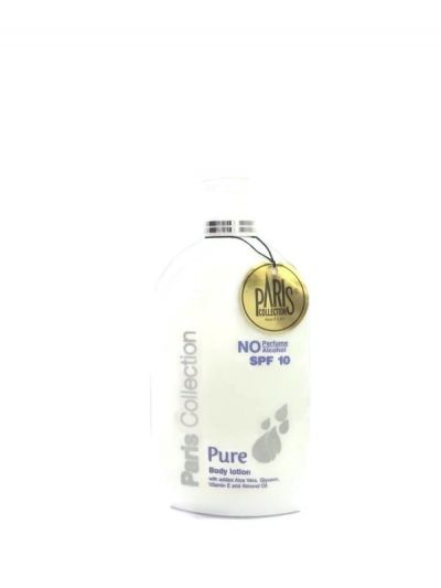 PARIS COLLECTION PURE BODY LOTION WITH THE SUN PROTECTION FACTOR (SPF)10