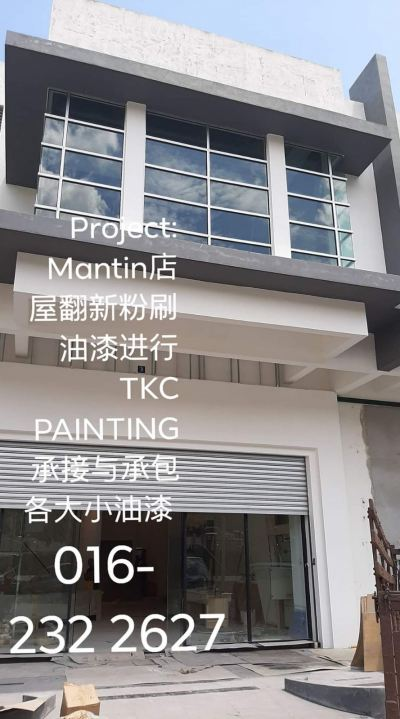 Project:#Mantin#���ݷ���#��ˢ#����#���̽���http://wa.me/60162322627#Ҫ����#������#Paint it.#TKC Painting#Seremban#Negeri Sembilan https://www.facebook.com/pg/tkcpaintingN.S/about/#ӵ��20������ᾭ�� #��������~#�۸����! ��#�а���#�н�:#����С���Ṥ����#������� ~#ҵ��С����#����/#˫�������#����#Banglo��#�����ʽ��#����ʽ��#��ˮ��#TNB��#�Ƶ꣬#����#����#ѧУ�ȸ���С '����'���� #Painting services &#Painting Projects #package labor and materials�� #Shophouse, #home, #temple, #factory,#Tangki#and #school���� https://m.facebook.com/tkcpaintingN.S/?ref=bookmarks https://www.tkcpainting.com.myMs Tan 016-232 2627http://wa.me/60162322627