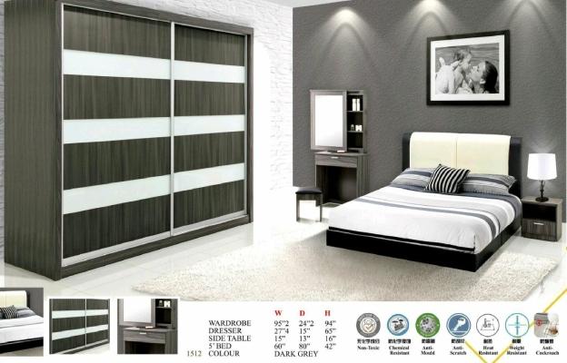 E80 8ft Bedroom Set