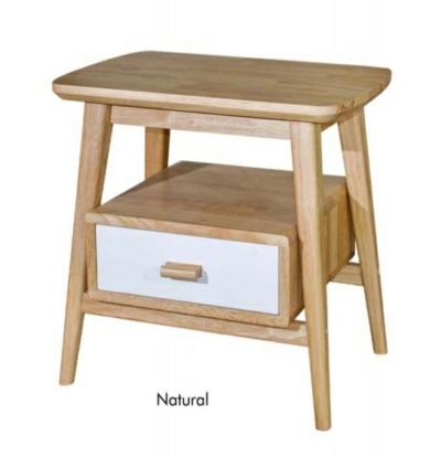 Designer Solid Wood Side Bedside Tables