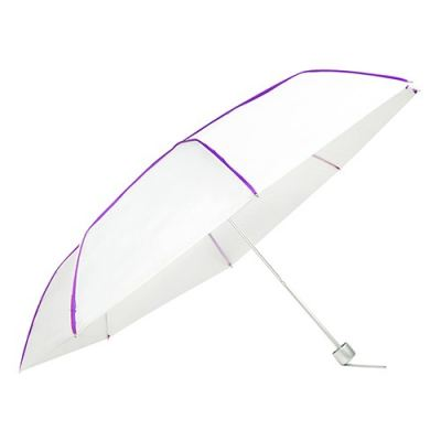 "U7014 - 21"" 2 Fold Umbrella (With Colourful Piping)"