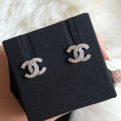 Brand New Chanel Classic Earring SHW