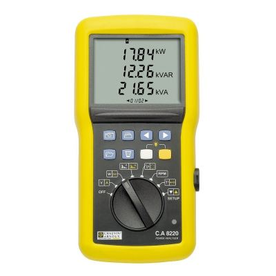 Power & Energy Quality Analysers - C.A 8220