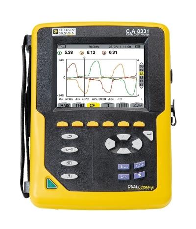 Qualistar Power & Energy Quality Analysers - C.A 8331