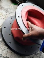 Linatex Red Rubber -REDUCER