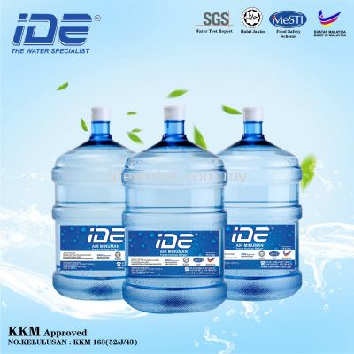 IDE 5 Gallon Bottle Water