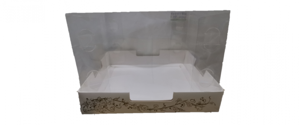 PVC cover cake box [Please Choose The Size]