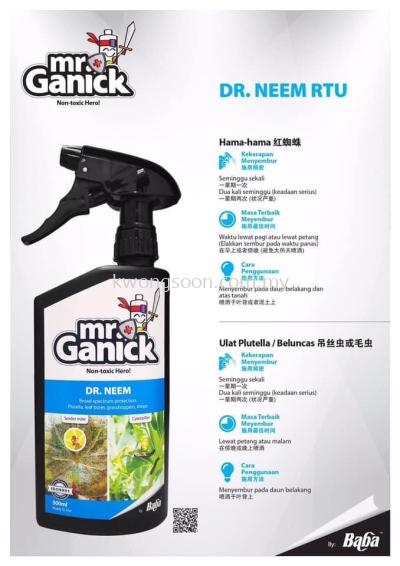 MR GANICK DR NEEM ORGANIC PESTICIDE