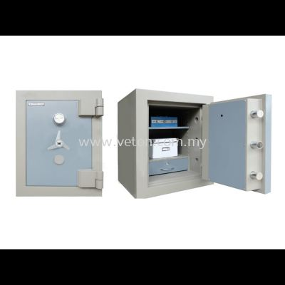 SS-65/1 BANKER SAFE SIZE ONE SECURED BY KEYLOCK AND COMBINATION LOCK