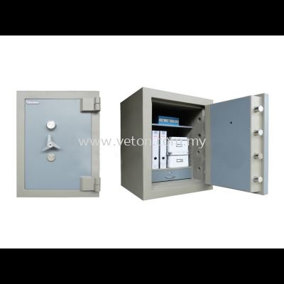 SS-65/2 BANKER SAFE SIZE TWO SECURED BY KEYLOCK AND COMBINATION LOCK