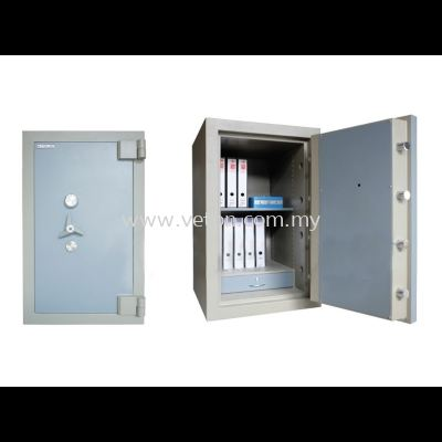 SS-65/3 BANKER SAFE SIZE THREE SECURED BY KEYLOCK AND COMBINATION LOCK