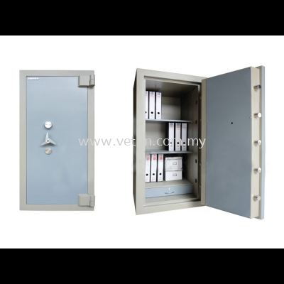 SS-65/4 BANKER SAFE SIZE FOUR SECURED BY KEYLOCK AND COMBINATION LOCK
