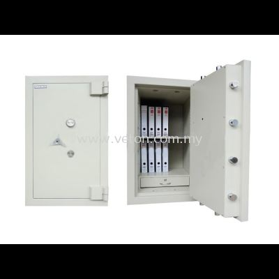 BANKER SAFE ID-01 SECURED BY KEYLOCK AND COMBINATION LOCK