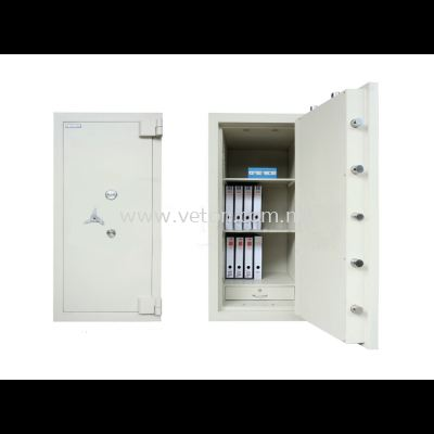 BANKER SAFE ID-02 SECURED BY KEYLOCK AND COMBINATION LOCK