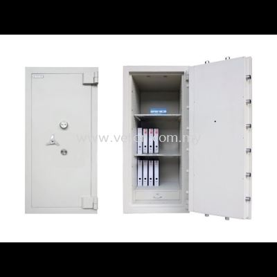 BANKER SAFE ID-03 SECURED BY KEYLOCK AND COMBINATION LOCK