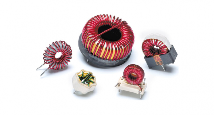 Standex CI CJ Series High Frequency Toroidal Differential Mode Inductor