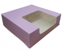 Pink layer cake box [Please Choose The Size] Packaging