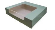 Green layer cake box [Please Choose The Size] Packaging